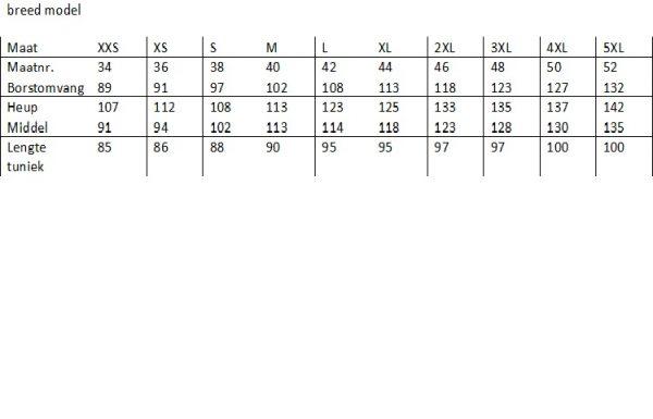 "AK1701 Burkini - Top Kwaliteit zwempak ""Grote maten"" 3XL, 4XL en 5XL-494"