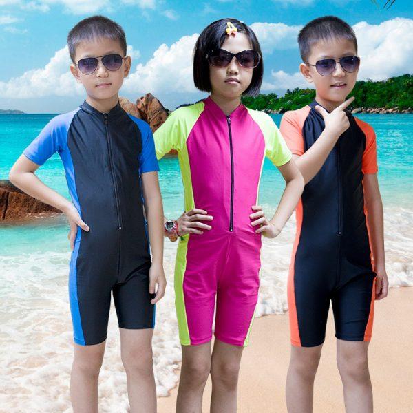 Kinder Unisex zwempak - Tankini-0