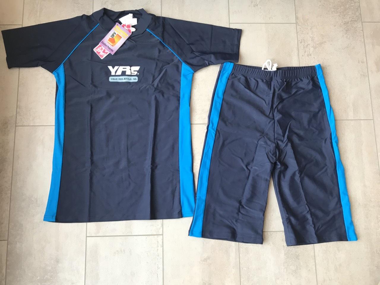 UV- Zwemsetje – Unisex (donkerblauw) Leeftijd 9 -13jr