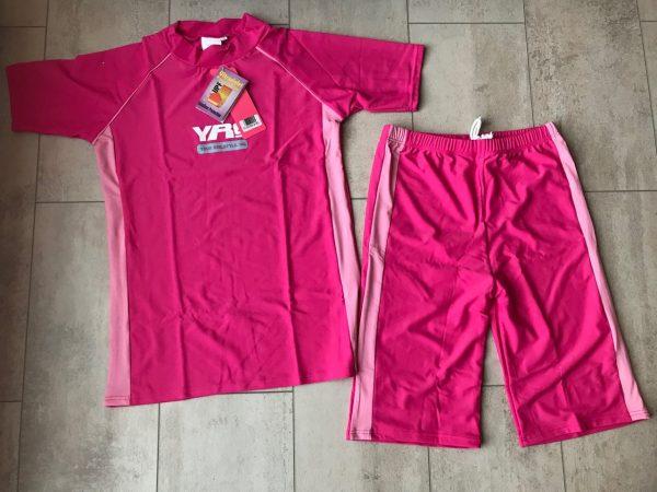 UV- zwemsetje - Roze (leeftijd 10-13jr)-0