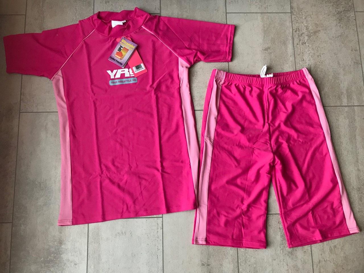 UV- Zwemsetje – Roze (leeftijd 10-13jr)