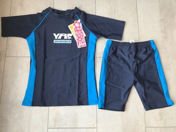 UV- Kinder zwemsetje - Unisex (donkerblauw)-0