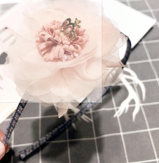 Luxe Haarband Bloom (hand Gemaakt)-1011