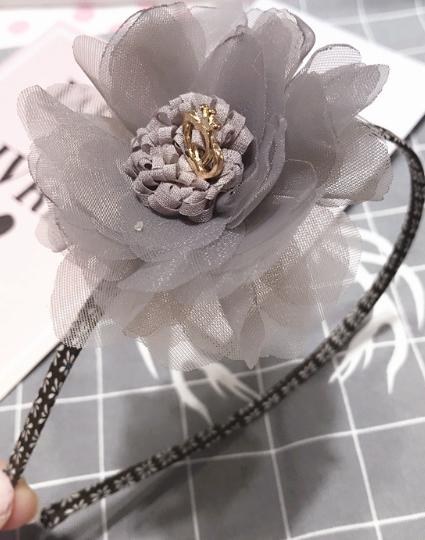 Luxe Haarband  Bloom (hand Gemaakt)
