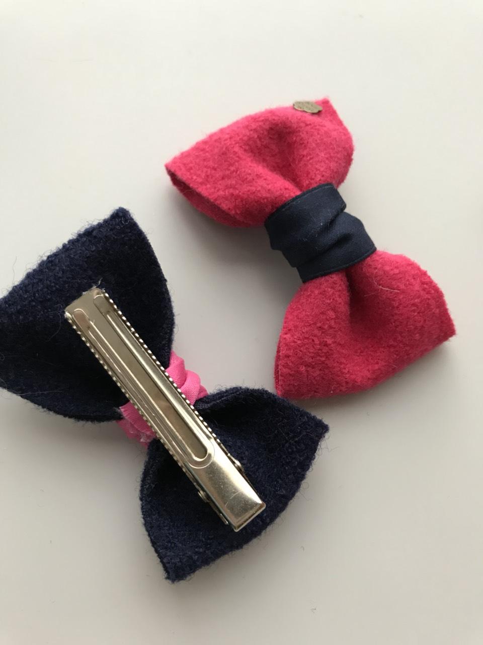 Haarbloemetjes Clip (hand Gemaakt)