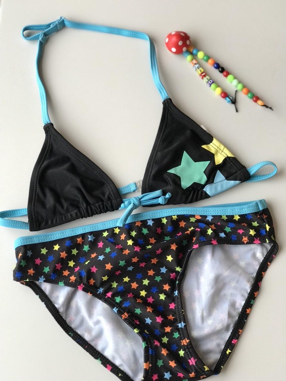 Meisje Bikini Zwempak –  Sterren