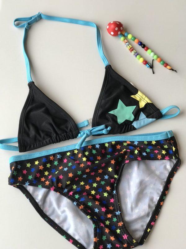 Meisje Bikini zwempak - sterren -973